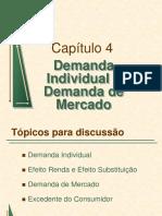 147901546 Cap 4 Demanda Individual e Demanda de Mercado