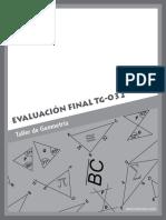 TG-032 Evaluación Final