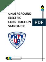 2014 Underground Electric Construction Standards