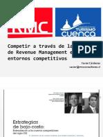 Presentación Taller Revenue Management