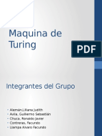 Máquina de Turing - 2016