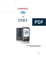 GSM and CDMA Difference
