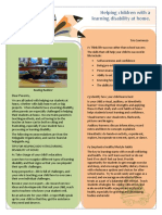 goal 19-helping students with ld class newsletter