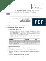 Informe de Avance Convocatoria 2009