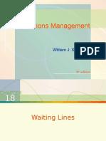 Chap018 - Waiting Lines
