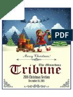 2016 Christmas Section