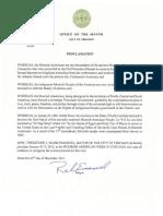A Rahm Emanuel Proclamation