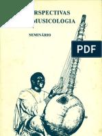 Novas Perspectivas Em Etnomusicologia - Maio de 1983