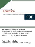Education 2015