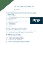 Antecedentes y Descripcion General Del Corredor