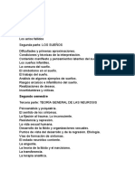 Cronograma Para estudiar Psicoanalisis