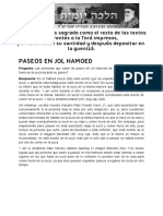 PASEOS EN JOL HAMOED _ Halajá Diaria según la opinión de Marán Rabí Ovadiá Yosef ZT_L.pdf