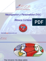 Neurogestion y Disc Bibiana Cortazar