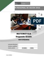 2do Grado-evaluacion de Salida Matematica