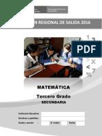 3er.grado- Evaluacion de Salida-matemática-Vilma 20 de Octubre