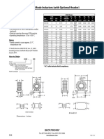 8100 Series - Common Mode Inductor