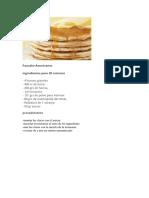 Pancake Americanos