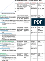 Planeación Didáctica de Una Semana de Trabajo en El Grupo de Fisiología Médica