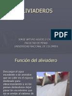 Características de Los Aliviaderos Hidráulicos.