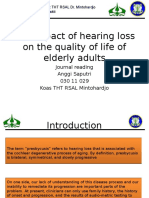 The Impact of Hearing Loss on the Quality