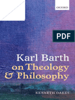 Karl Barth on Theology and Philosophy - Kenneth Oakes
