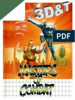 Masters of Combat 3D&T