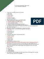 Soal Uab Kurhab 2 Angkatan 2014