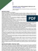El Consejo de Ministros aprueba el Plan de actuaciones para la prevención y extinción de incendios forestales de 2010