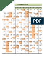 Calendario Accademico 2015 2016