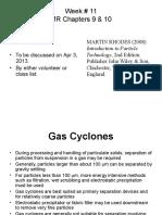 Week11 Gas Cyclone