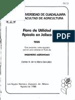 ESTUDIO GEOBOTANICO DE JALISCO