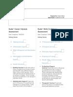 kuder assessment summary