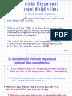Perilaku Organisasi Sebagai Disiplin Ilmu