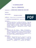O Consolador - Chico Xavier - Emmanuel