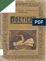 González Pérez, Aníbal (ed.) - Aristóteles, Horacio, Boileau - Poéticas.pdf