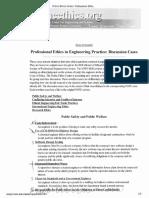 List of Presentation Cases