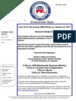 GRE December 2016 Newsletter