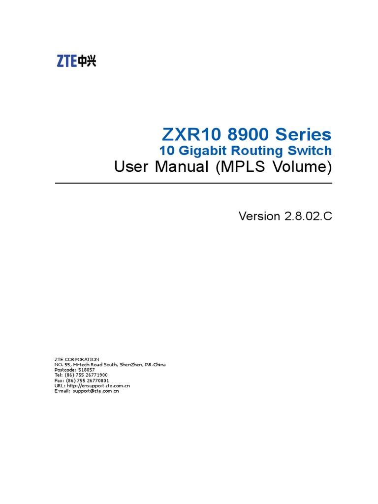 MPLS L2 VPN configuration zte pdf | Multiprotocol Label Switching