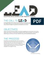 Lead Scope Schedule Master
