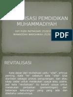 REVITALISASI PEMDIDIKAN MUHAMMADIYAH