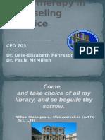 Orientacion y evaluacion en biblioterapia