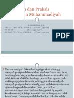 Pemikiran dan Praksis Pendidikan Muhammadiyah.pptx