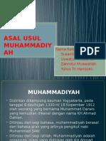 Asal Usul Muhammadiyah