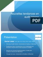 Nouvelles Tendances en Audit Interne_Daniel Lebel_Montréal