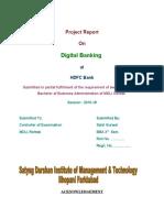 Digital Banking - HDFC Bank