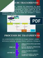 Proceso de Tratamiento de Aguas Residuales