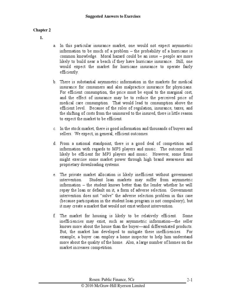 Rosen 5Ce IM Chapter2 | Pareto Efficiency | Economic Theories