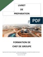%28Livret de Préparation à La Formation de Chef de Groupe SPV%29