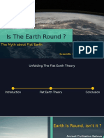 Is the Earth Round