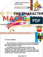 Characteristics of Stars (SIM) STAR MAGIC presents